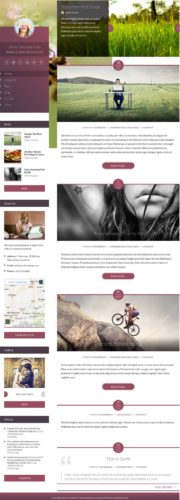 Blog Wordpress Theme FacePrint Cubic Themes Create a Girly Blog with Wordpress Theme   FacePrint
