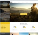 Thumbnail image for Create a Flat Design Business Site with Lexicon Joomla Template