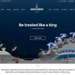 Thumbnail image for Hotel with Online Booking WordPress Theme – Santorini Resort
