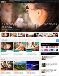 Thumbnail image for Multi-Purpose Magazine WordPress Theme – MagXP
