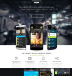 Thumbnail image for Mobile App WordPress Theme – Tapptastic