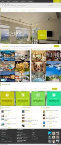 Real Estate Template Joglo WordPress Theme Tokokoo Best Real Estate Themes