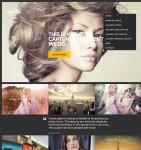 Thumbnail image for Modern Photography WordPress Theme – Vignette