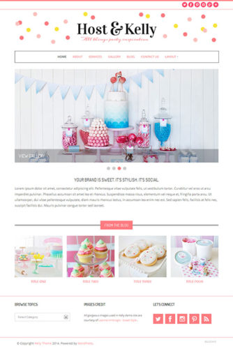 wedding planners Wordpress Theme kelly Best Business Themes