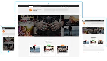 Wordpress Greatmag Free Blog Theme - features