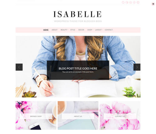Top 5 Girly WordPress Themes