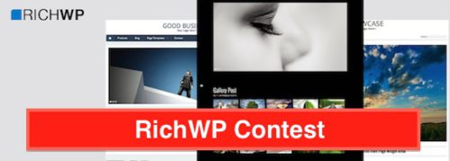 RichWP Contest Free Theme Giveaway