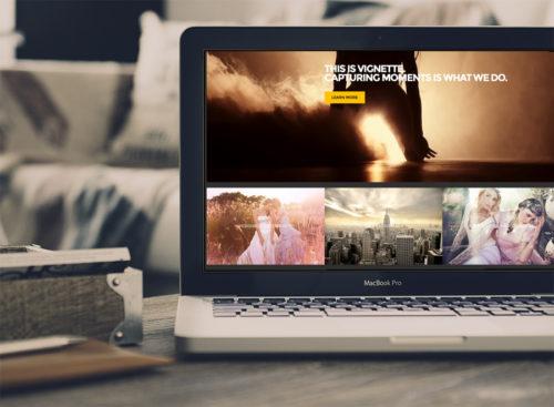 Photography Wordpress Theme Vignette