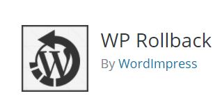 Wordpress WP Rollback plugin